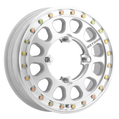 Method Race Wheels MR401-R UTV Beadlock 15x5 50 4x136 Machined MR40155047346B2
