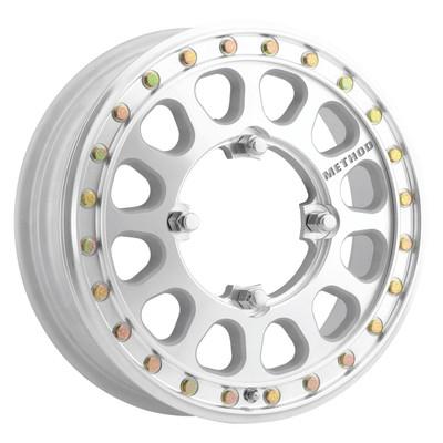 Method Race Wheels MR401-R UTV Beadlock 15x5 50 4x156 Machined MR40155046346B2