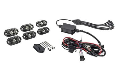 KC HiLites C-Series RGB LED Rock Light Kit (6 pc) (339)