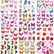 Butterfly Water Transfer Decals