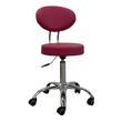 Technician Stool 996A - Rose Red