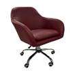 Customer Chair - CAS101 Casino Burgundy