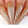 Nail Lacquer Nail Swatch - N433 Strike Gold