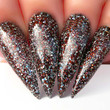 Nail Lacquer Nail Swatch - N467 Chocolate Glaze
