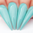 Gel Polish Nail Swatch - G493 The Real Teal