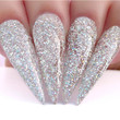 Dip Powder Nail Swatch - D437 Time For A Selfie