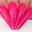 Dip Powder Nail Swatch - D451 Pink Up The Pace