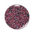 Dip Powder Circle Swatch - D464 Cherry Dust