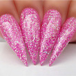 Dip Powder Nail Swatch - D478 I Pink You Anytime