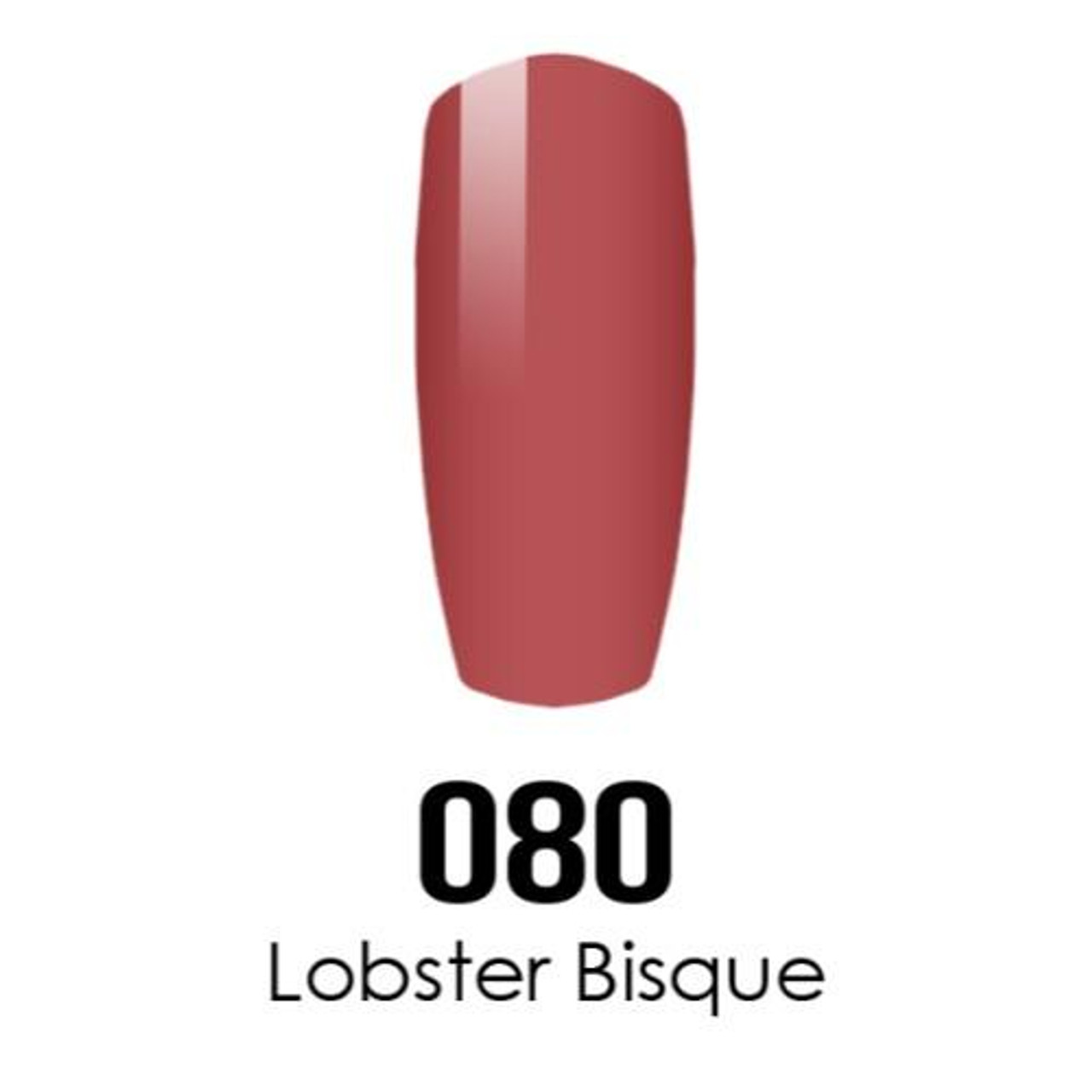 Buy Daisy Dnd Duo Gel Dc080 Lobster Bisque Diamond Nail Supplies