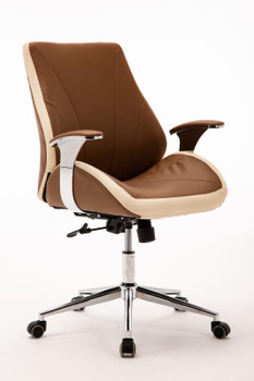 Customer Chair GY011 - Cappuccino Front Side