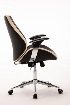 Customer Chair GY017 - Black Side