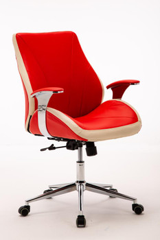 Customer Chair GY017 - Red Front Side