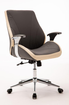 Customer Chair GY017 - Grey Front Side