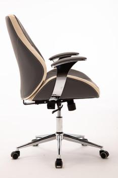Customer Chair GY017 - Grey Side