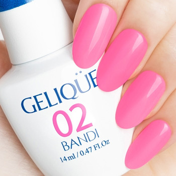 Gelique  - GF183 Surfing Pink Swatch