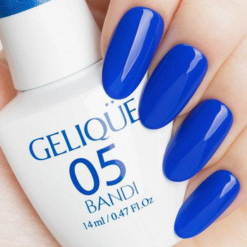 Gelique - GF449 Surfing Blue Swatch