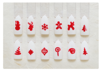 3D Stamp - #010 Christmas Collection2