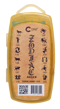 3D Stamp - #012 Zodiac Collection