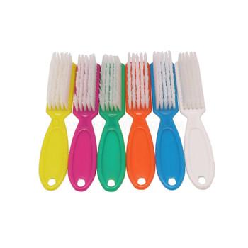Pedi Brush Plastic Assorted Colours