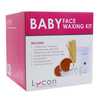 Baby Face Waxing Kit Kit