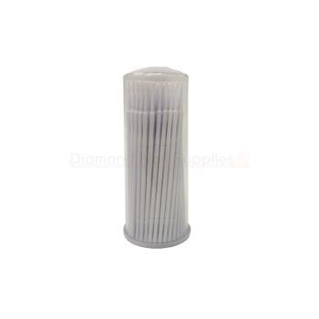Micro Applicator Brush White 1.2mm Cylinder 100pc