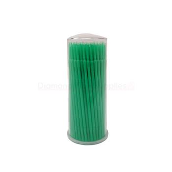 Micro Applicator Green 2.0mm Fine 100pc