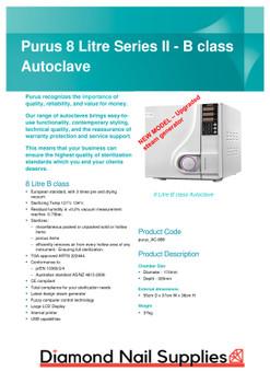 Autoclave 8L B Class Series II