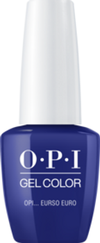 Gel Color - GCE72 OPI... Eurso Euro