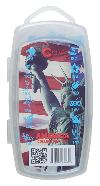 3D Stamp - #016 America Collection