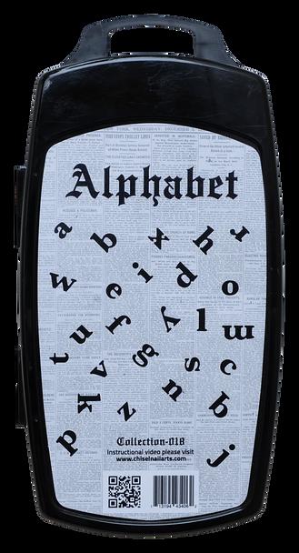 3D Stamp - #018 Alphabet