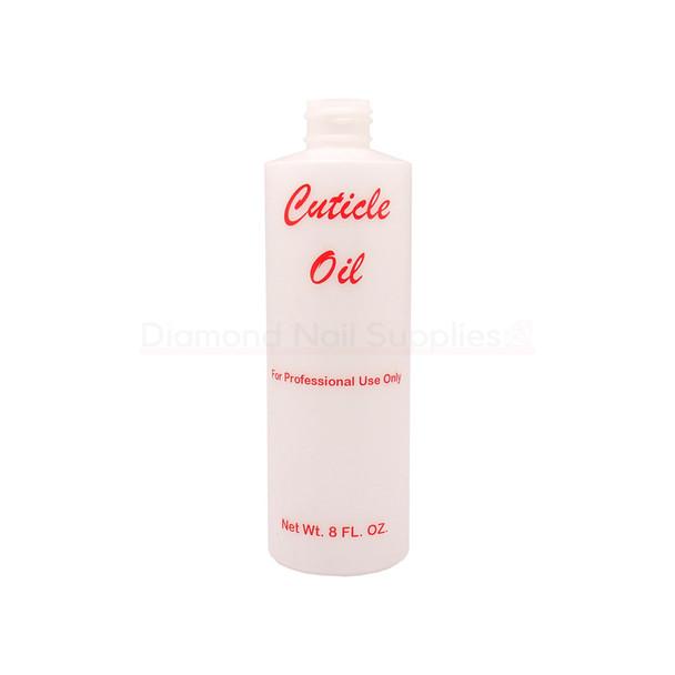 Empty Cuticle Oil Bottle 237ml (8oz)