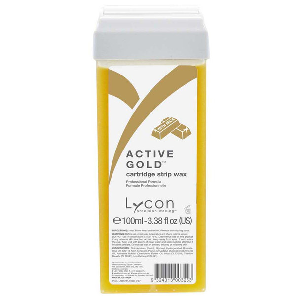 Active Gold Cartridge 100ml