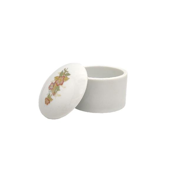 Ceramic Dappen Dish With Lid