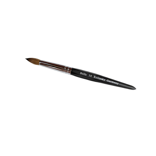 Acrylic Brush 14 Black