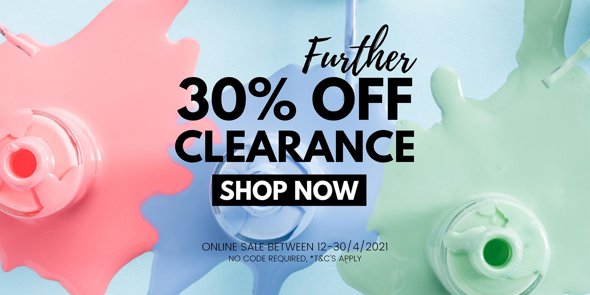 30% off clearance sale diamond nail supplies sydney online shop australia shipping