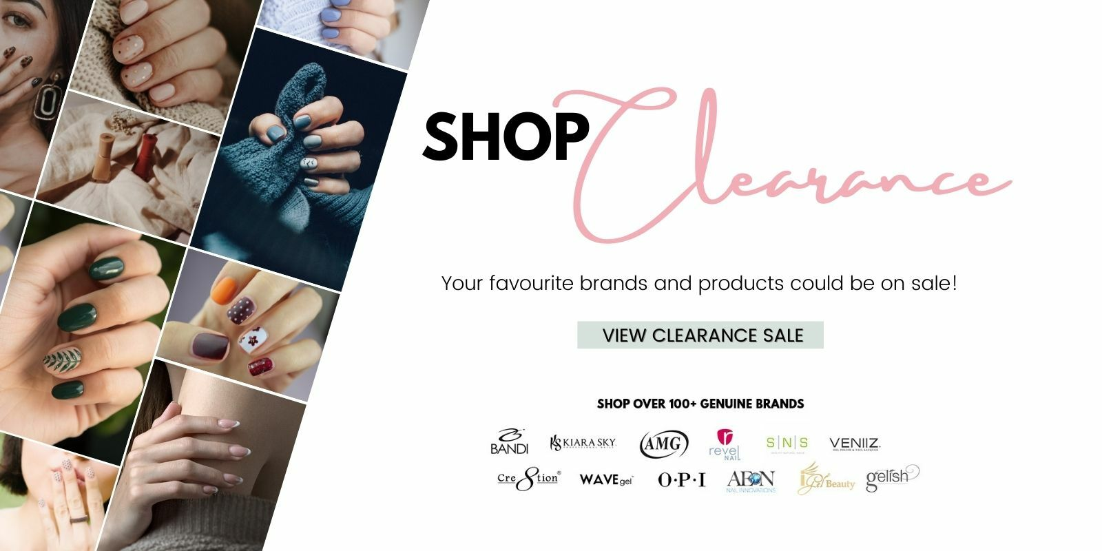 nail products clearance sale