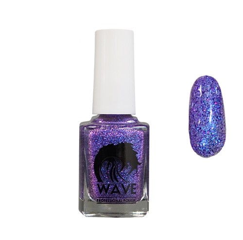 Buy Wave Gel Galaxy Nail Polish - 07 Midnight Blue | Diamond Nail ...