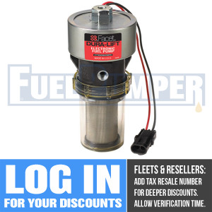 40290 Facet Dura-Lift Fuel Pump, 12 Volt, 9.0-11.5 PSI, 33 GPH