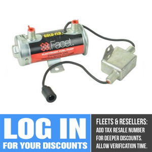 40128E Facet Gold-Flo Fuel Pump, 24 Volt, 6.0-8.0, 33 GPH