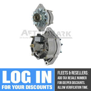 A-45-2590 90 Amp Alternator for Thermo King (Replaces Thermo King 44-9572, 41-5457, 44-8950, 41-6781, 44-8525, 44-8949, 841-8463, 45-2256, 44-9716, 44-9571, Carrier 30-50340-00)