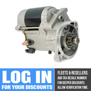 A-45-1718 Starter for Thermo King (Replaces Thermo King 75-1718, 45-2326, 45-1312, 45-1724)