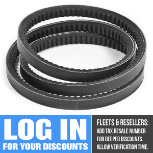 A-50-60006-02 Alternator Belt for Carrier Transicold (Also Replaces Carrier 50-00179-10, 50-01180-08, Thermo King 78-587, 78-842, Zanotti 3CGT071)