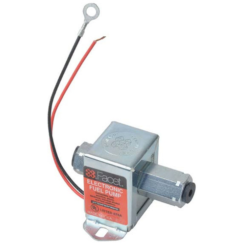 Facet Fuel Pump With Check Valve, With Positive Shut Off Valve