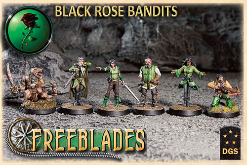 Black Rose Bandits Starter Set
