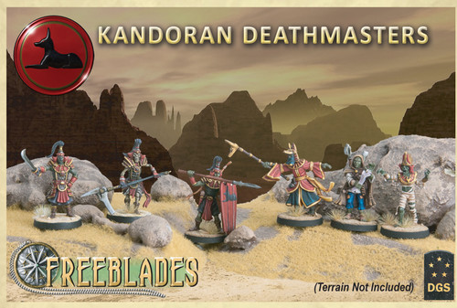 Kandoran Deathmasters Starter Set