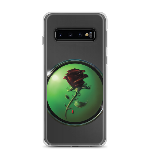 Black Rose Samsung Case