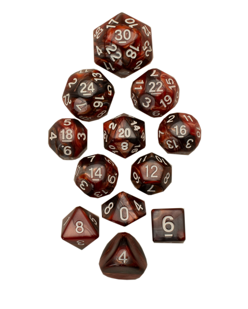 12pc Tiered Dice Set - Thermal Vent