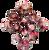 12pc Tiered Dice Set - Black Cherry Sundae