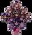 12pc Tiered Dice Set - Crab Nebula